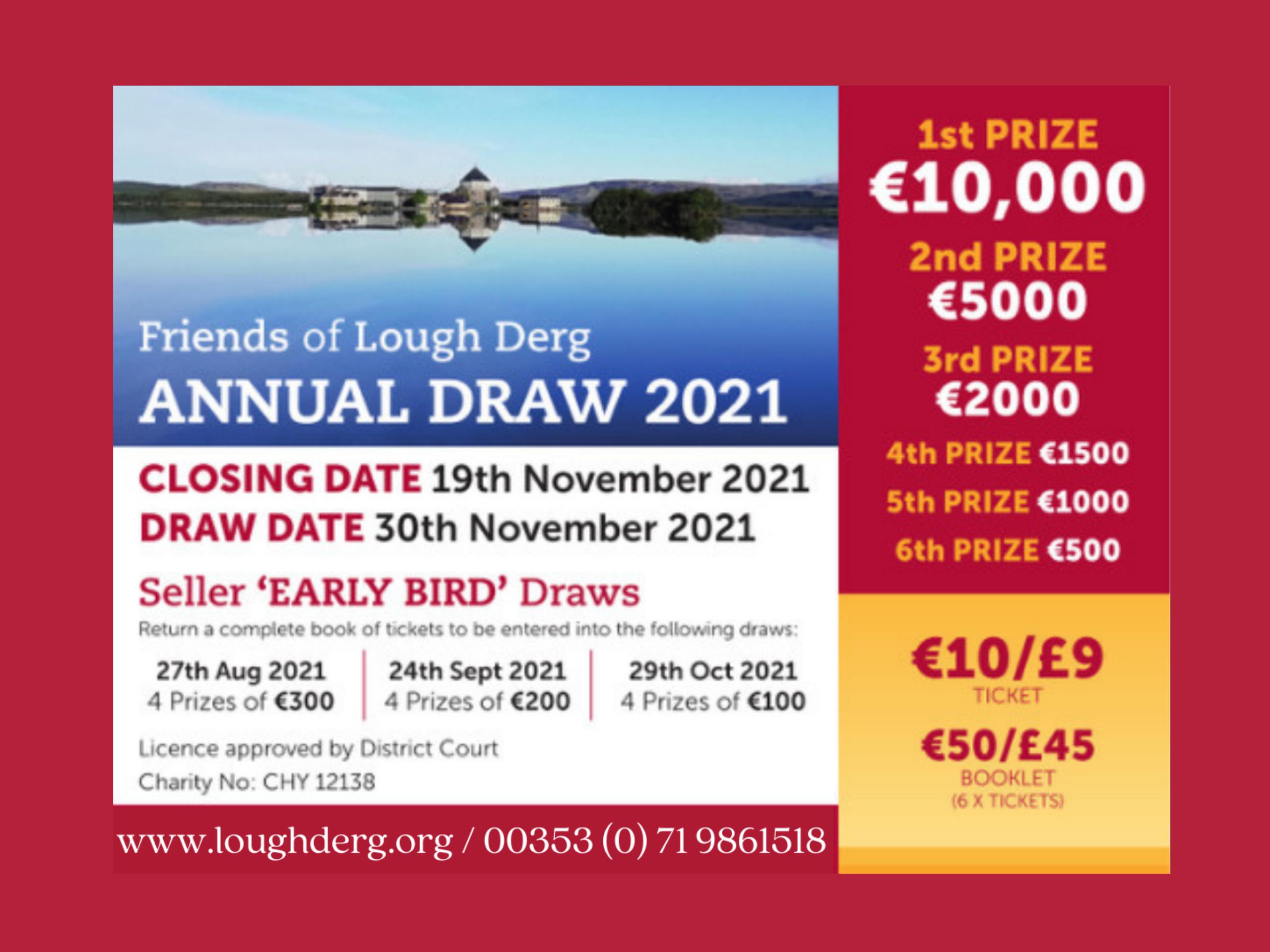 Lough Derg Annual Draw 2021